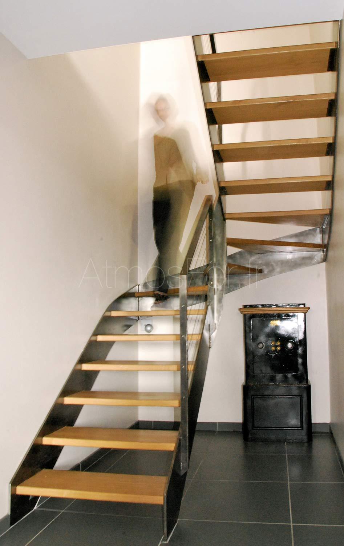 Escalier 2 4 Tournant Intemporel 2 Atmos Fer Toulouse
