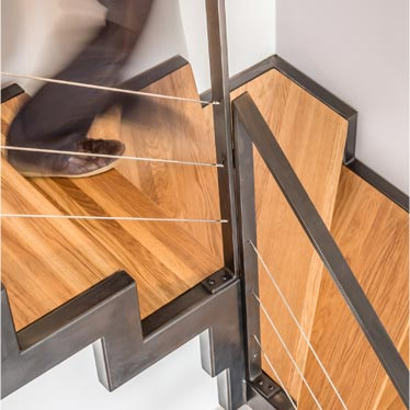 Escaliers 1/4 tournant AtmosFer