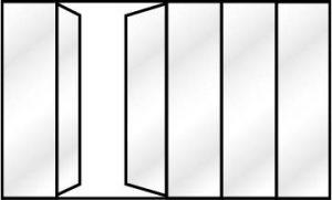 Verrière simple option fenêtre