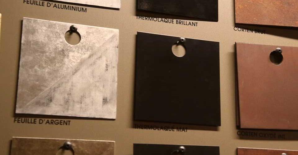 echantillons-matériaux-ferronnerie-métallerie-AtmosFER-Toulouse