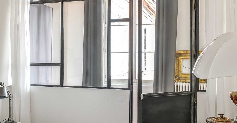 Verrière Toulouse, Verrière style mondrian, Atmos-fer