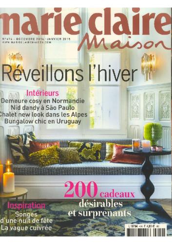 Janv 2015 – Marie Claire Maison