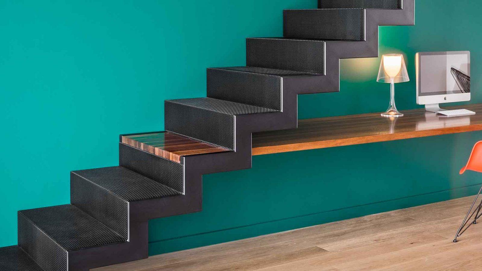Spécialiste Escalier contemporain atelier de ferronnerie Atmos.FER à Toulouse