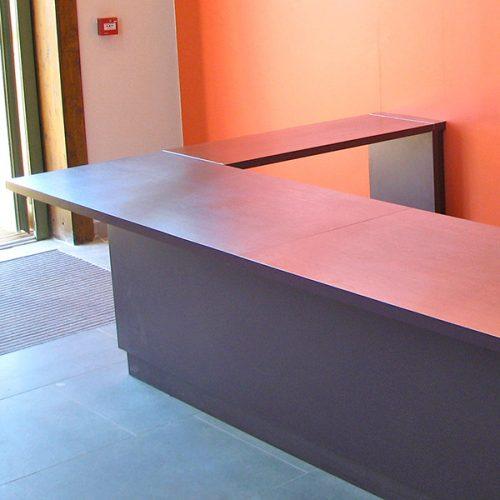 Salle des fêtes Castanet bar en zinc