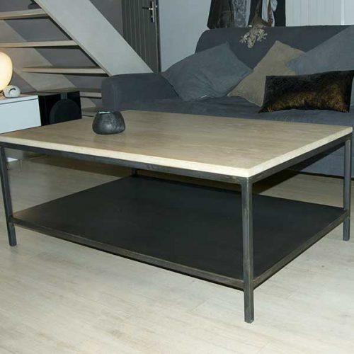 Table-basse-double-plateau-métal-&-bois-list