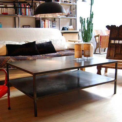 Table-basse-double-plateau-métal-list