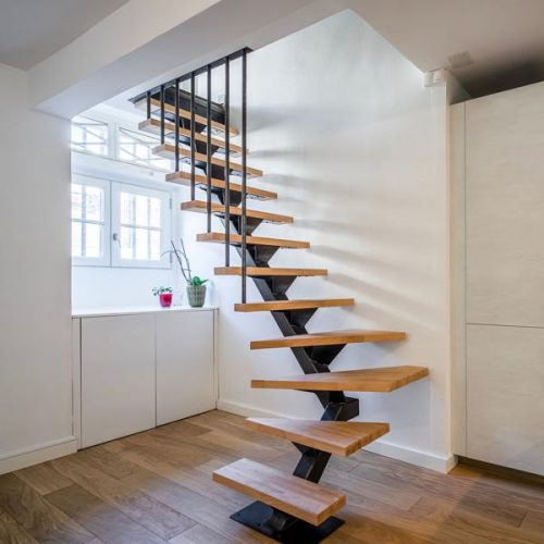 Escalier 1_4 tournant rayonant-Toulouse-Vignette
