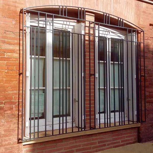 Grille de fenêtre Art Déco Sur-mesure Toulouse